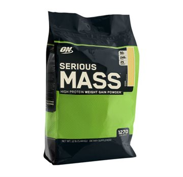 Optimum Nutrition Serious Mass 5.45kg banana