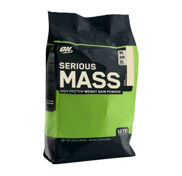 Optimum Nutrition Serious Mass 5.45kg vanilla