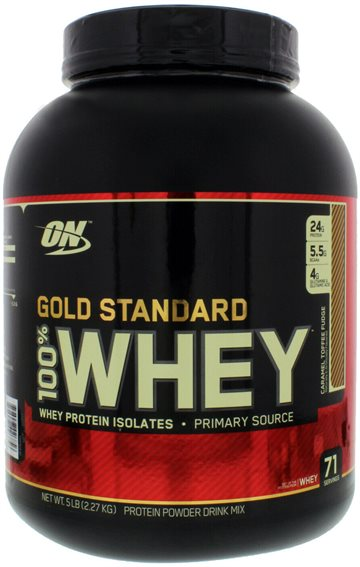 Optimum Nutrition 100 Whey Gold 2.26kg caramel toffee