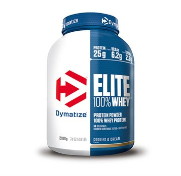 Dymatize Elite Whey - 2100g - cookies & cream