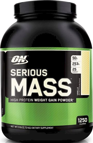 Optimum Nutrition Serious Mass 2.72kg vanilla