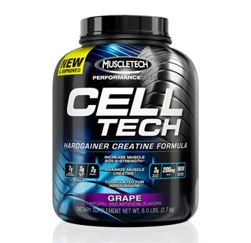 MuscleTech Celltech Performance Series 2.72kg - grape creatine