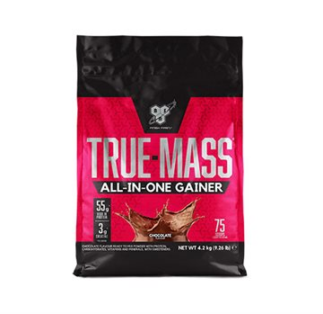 BSN True Mass All in One - chocolate milkshake 4,2kg