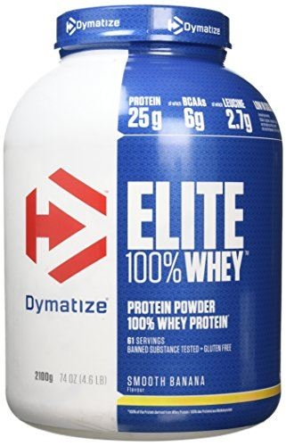Dymatize Elite Whey - 2100g - smooth banana