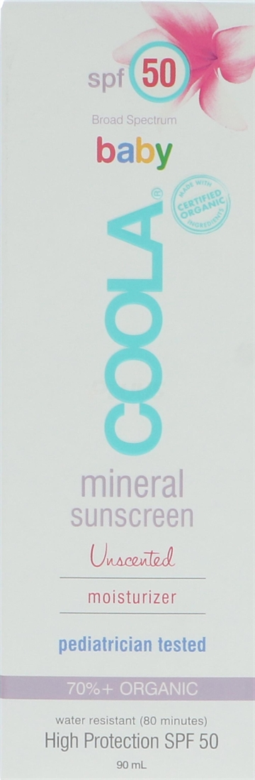 Coola Baby Mineral Sunscreen Moisturizer SPF 50 90ml