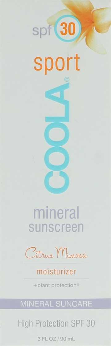 Coola Mineral Sport SPF 30 Citrus Mimosa 90ml