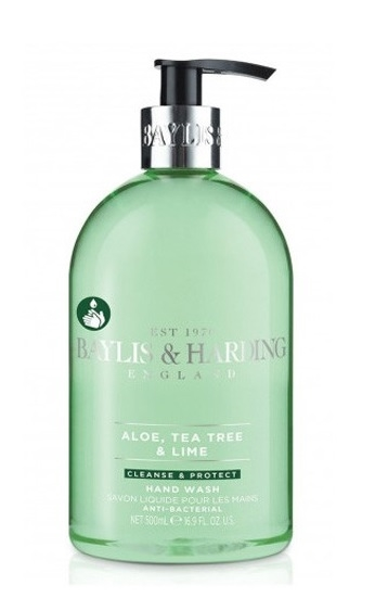 Baylis & Harding 500ml Antibacterial Hand Wash Aloe, Tea Tree & Lime