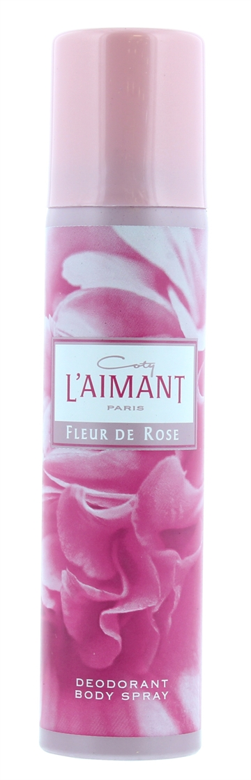 Coty L'Aimant 75ml Deodorant Body Spray Fleur De Rose