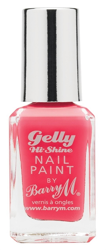 Barry M Gelly Hi Shine Nail Polish Grapefruit