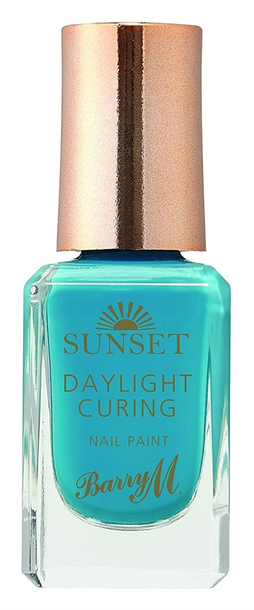 Barry M Sunset Daylight 10ml Nail Polish The Way You Make Me Teal