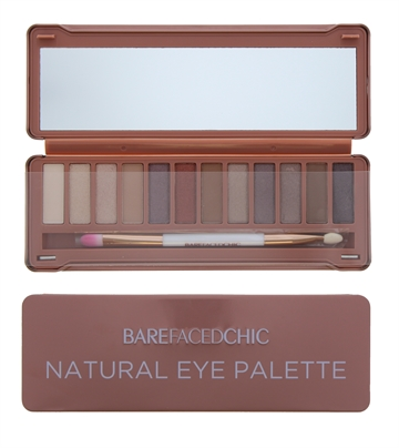 Barefaced Chic Eyeshadow Palette Natural