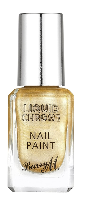 Barry M Liquid Chrome 10ml Nail Polish Bright Lights