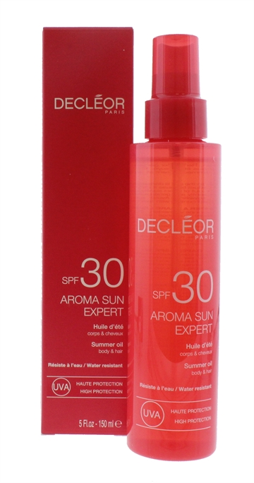 Decleor 150ml Summer Oil Hair & Body SPF 30