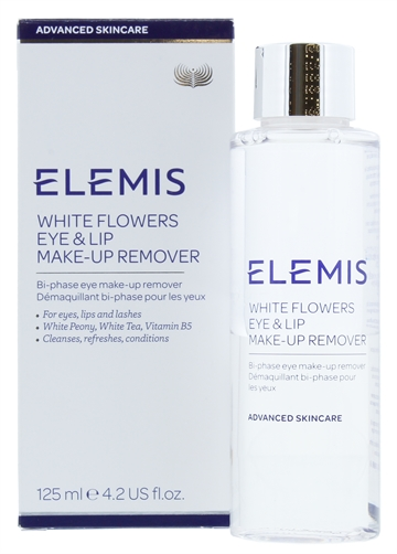 Elemis 125ml Eye & Lip Make Up Remover White