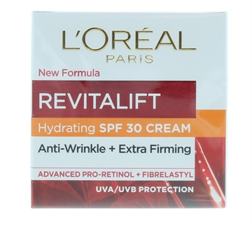 L'Oréal Revitalift 50ml Day Cream Spf30 Anti-Wrinkle & Extra Firming