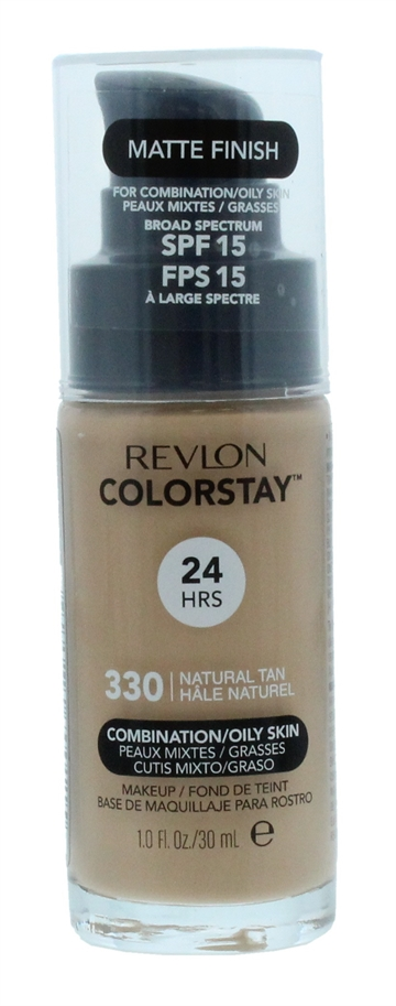 Revlon Colorstay 30ml Foundation Combination/Oily Skin Natural Tan 330