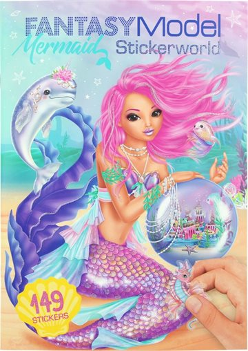 Top Model - Fantasy Stickerworld - Mermaid (0410846)