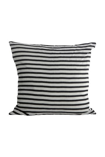 House Doctor - Stripe Pillowcases 50 x 50 cm - Black/White (AB1092/203531092)