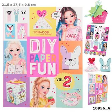 Top Model - DIY Paper Fun Book (0410956)