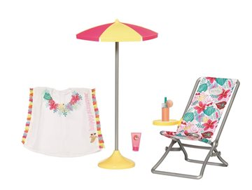 Baby Born - Holiday Deckchair Set 43cm (829264)
