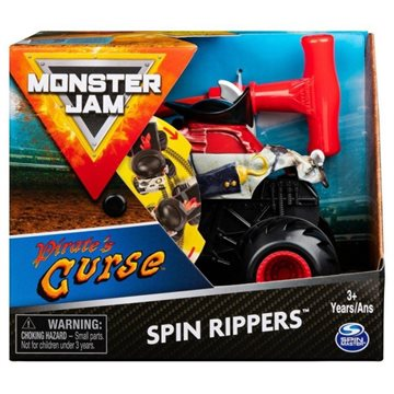 Monster Jam - Spin Rippers - Pirate`s Curse (20119282)