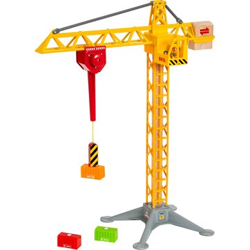 BRIO - Construction Crane with Lights (33835)