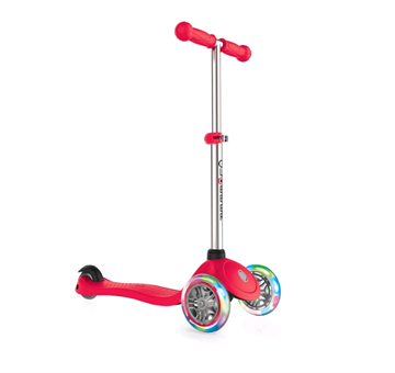GLOBBER - Scooter - PRIMO LIGHTS V2 - Red (423-102-3)