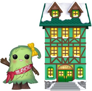 Funko POP! - Town: Holiday - Town Hall w/Mayor Patty Noble (44424)