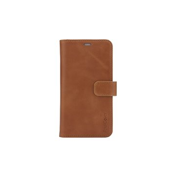 "RadiCover - Radiationprotected Mobilewallet Leather iPhone 12 5,4"" 2in1 Magnetcover - Brown"