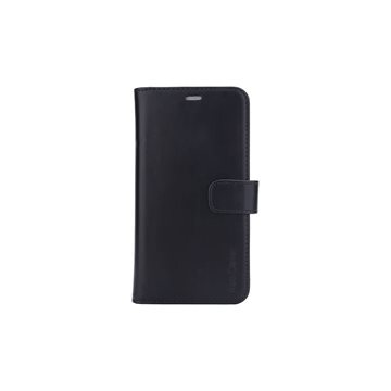 "RadiCover - Radiationprotected Mobilewallet Leather iPhone 12 6,7"" 2in1 Magnetcover- Black"
