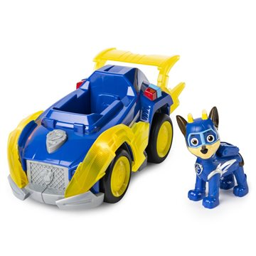 Paw Patrol - Mighty Pups Super PAWs Deluxe Vehicle - Chase