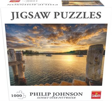 Goliath - Puzzle - Sunset over Pittwater (1000pcs) (71380)
