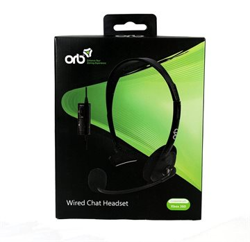 ORB Wired Chat Headset for Xbox 360