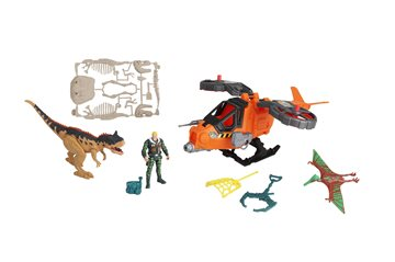 Dino Valley - Steel Hawk Rescue Playset (542089)