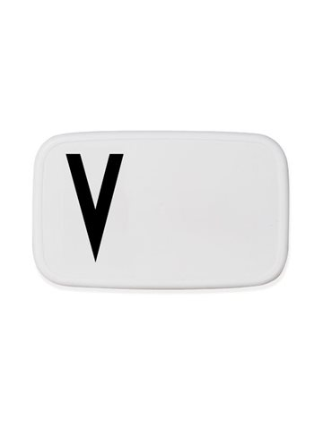 Design Letters - Personal Lunch Box - V (20203000V)