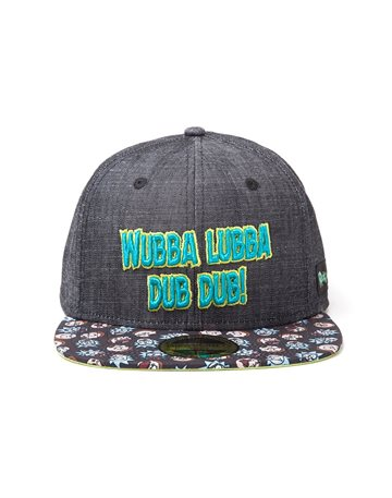 Rick And Morty - Wubba Lubba Snapback (One-size)