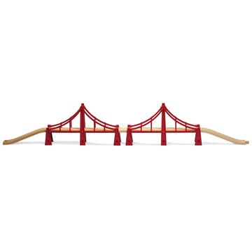 BRIO - Double Suspension Bridge (33683)
