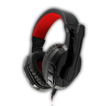 White Shark - Panther Gaming Headset (Black/Red)