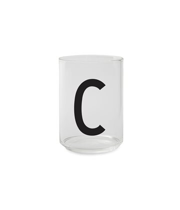 ​Design Letters - Personal Drinking Glass C (10205000C)