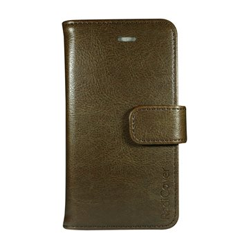 "RadiCover - Flipside ""Fashion"" Stand Function - Iphone 5/5S/SE - Brown"