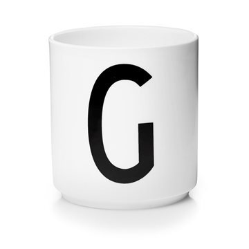 ​Design Letters - Personal Porcelain Cup G - White (10201000G)