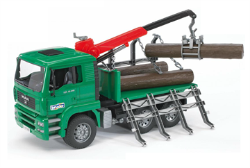 Bruder - MAN TimberTruck with Loading (2769)