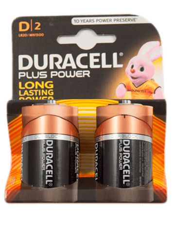Duracell Plus Power D Mono MN1300 - 2 Stück