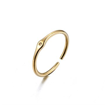 Everneed ring Guld Messing Hunstik