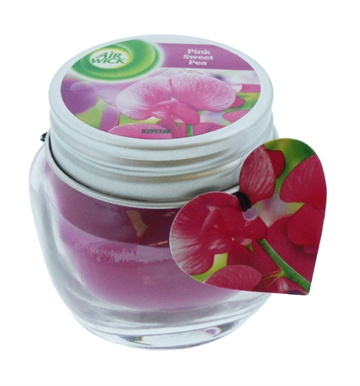 Airwick 30G Candle Pink Sweet Pea