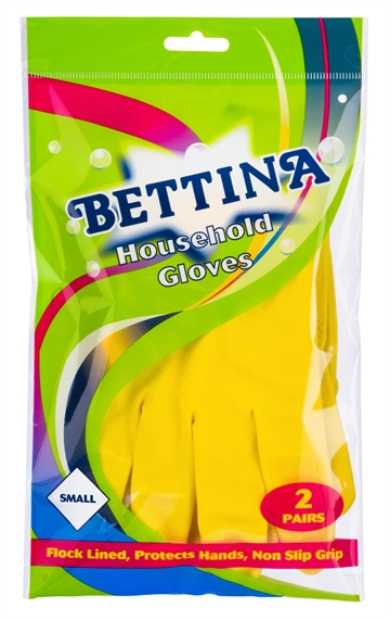 Bettina Household Gloves Small 2 Pack