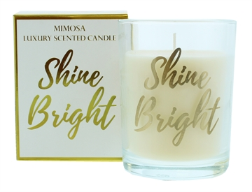 Candlelight 220G Shine Gold Candle