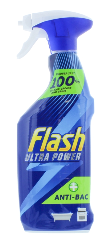 Flash 500ml Ultra Power Spray Anti Bacterial