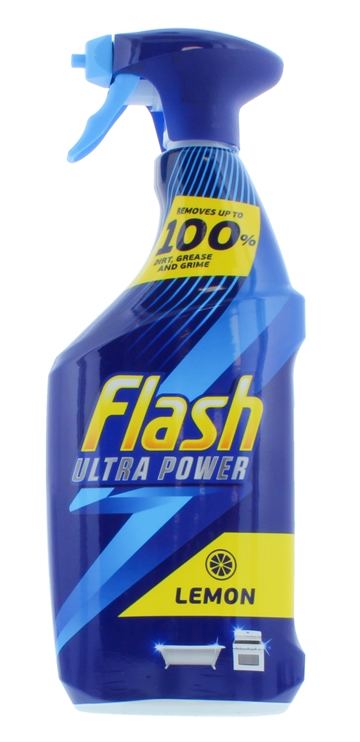 Flash 750ml Ultra Power Spray Cleaner Lemon
