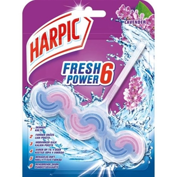 Harpic 39G Power Fresh Toilet Block Lavender